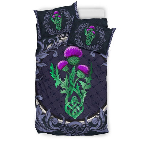 Scotland Bedding Set - Thistle Celtic Royal Purple A24