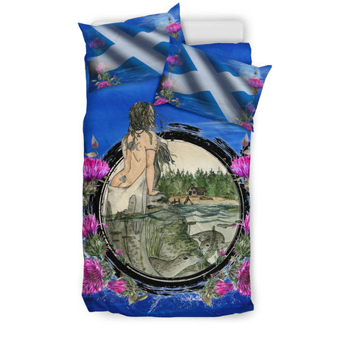 Scotland Bedding Set, Scotland Selkie Thistle A14