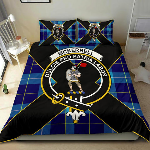 Tartan Bedding Set, McKerrell Luxury Style Scottish Printed Bedding Set A9