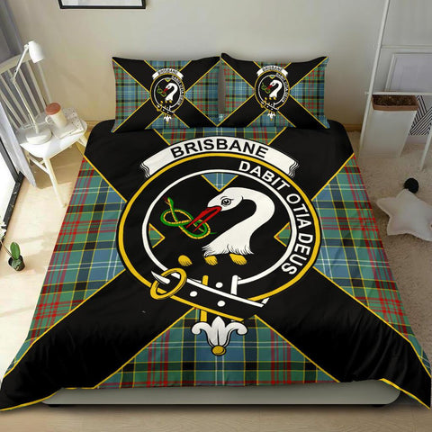 Tartan Bedding Set, Brisbane Luxury Style Scottish Printed Bedding Set A9