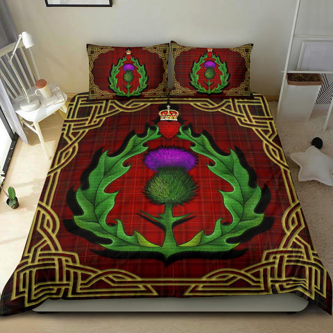 Scotland Bedding Set - Thistle Stewart Royal Modern Claddagh ring A24