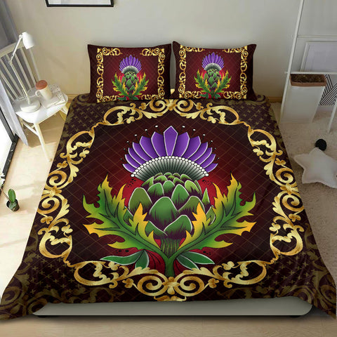 Scotland Bedding Set - Thistle Special Gold A24