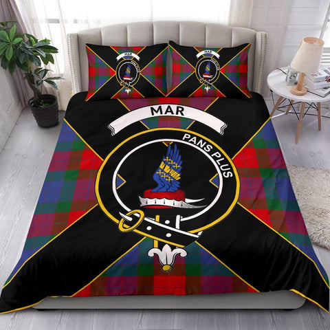 Tartan Bedding Set, Mar Luxury Style Scottish Printed Bedding Set A9