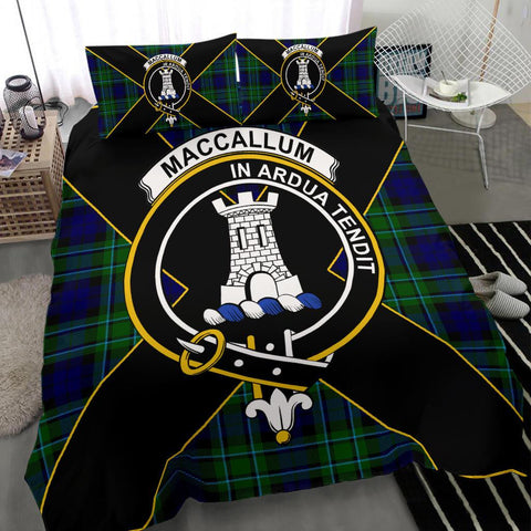 Tartan Bedding Set, MacCallum Luxury Style Scottish Printed Bedding Set A9