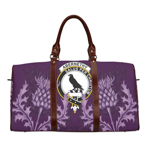 Abernethy Crest Scottish Thistle Scotland Travel Bag A7
