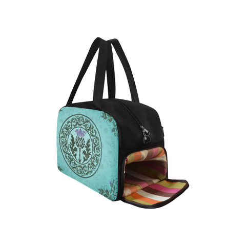 Green Thistle - Weekend Travel Bag | Special Custom Design