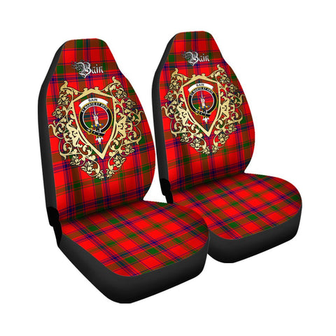 Bain Clan Car Seat Cover Royal Sheild