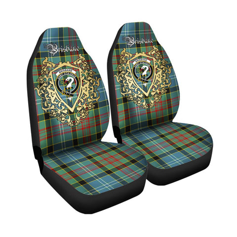 Brisbane modern Clan Car Seat Cover Royal Sheild