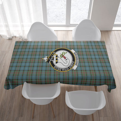 Brisbane Crest Tartan Tablecloth | Home Decor
