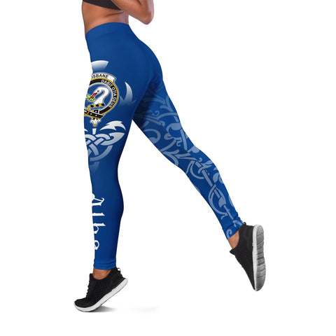 Brisbane Crest Alba Celtic Leggings A30