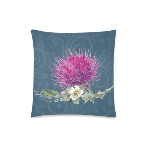 Image of Thistle Flower - Pillow Cushions Cover | Special Custom Design