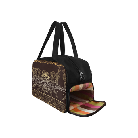 Image of Thistle Pattern - Weekend Travel Bags | Special Custom Design
