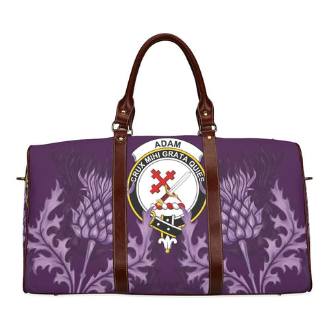 Image of Adam Crest Scottish Thistle Scotland Travel Bag | Over 300 Clans