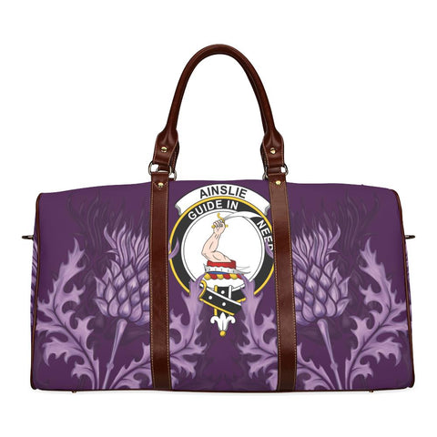 Ainslie Crest Scottish Thistle Scotland Travel Bag A7