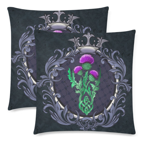 Scotland Pillow Covers - Thistle Celtic Royal A24