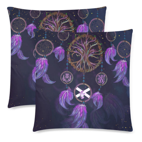 Image of Scotland Pillow Case - Dream Catcher Celtic Tree Of Life | Love Scotland