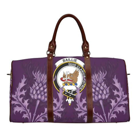 Baillie Crest Scottish Thistle Scotland Travel Bag | Over 300 Clans