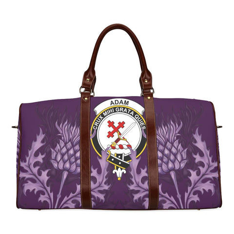 Image of Adam Crest Scottish Thistle Scotland Travel Bag A7