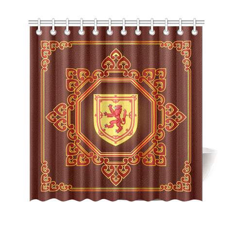 Image of Scotland Shower Curtain -Scotland Royal Banner | Love Scotland