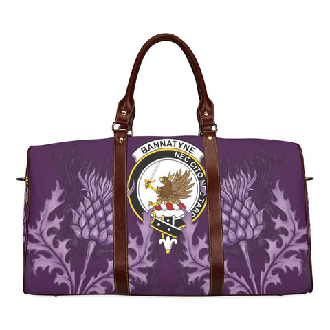 Bannatyne Crest Scottish Thistle Scotland Travel Bag A7