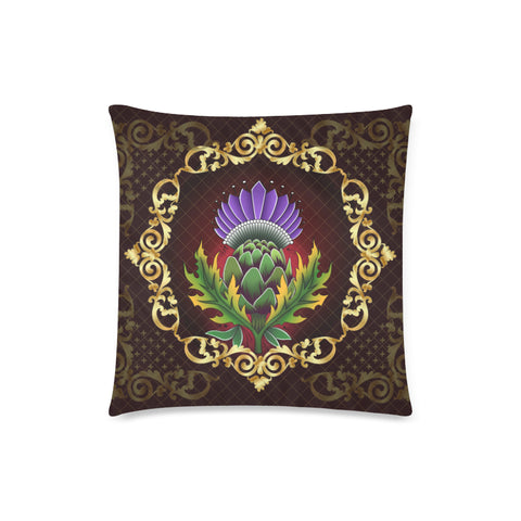 Image of Scotland Pillow Case - Thistle Special Gold A24