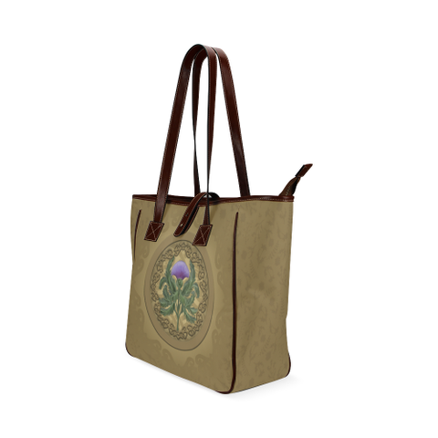 Luxurious Thistle Scottish - Classic Tote Bag | Special Custom Design