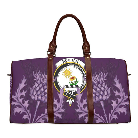 Buchan Crest Scottish Thistle Scotland Travel Bag | Over 300 Clans