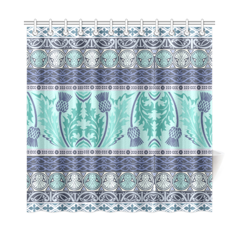 Thistle Vintage - Scotland Shower Curtain | Special Custom Design
