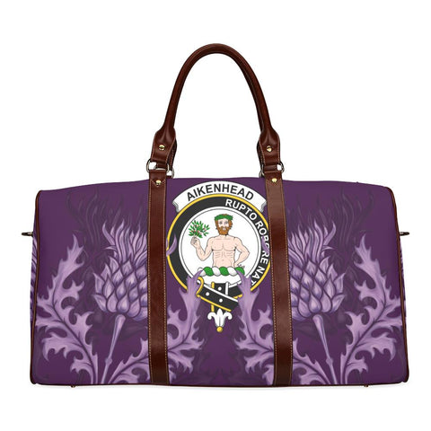 Aikenhead Crest Scottish Thistle Scotland Travel Bag A7