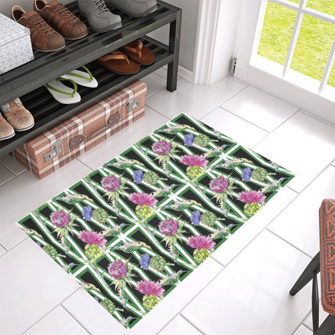 Scottish Thistle Pattern Doormat | HOT Sale