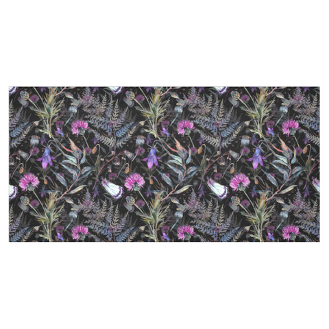 Scottish Dark Thistle - Tablecloth | Love Scotland