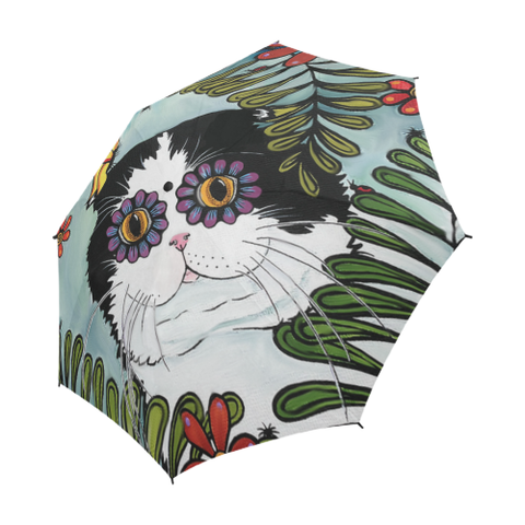 Hiding Scottish Fold Cat - Scotland Umbrella | Special Custom Design