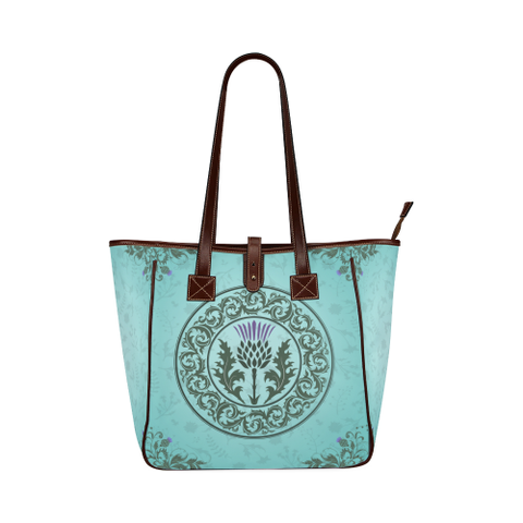Green Thistle - Classic Tote Bag | Special Custom Design