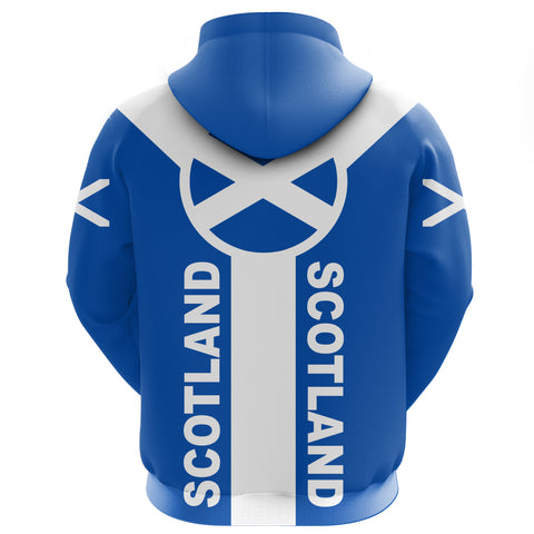Mowat (of Inglistoun) Crest Hoodie Unisex Scottish Flag A7
