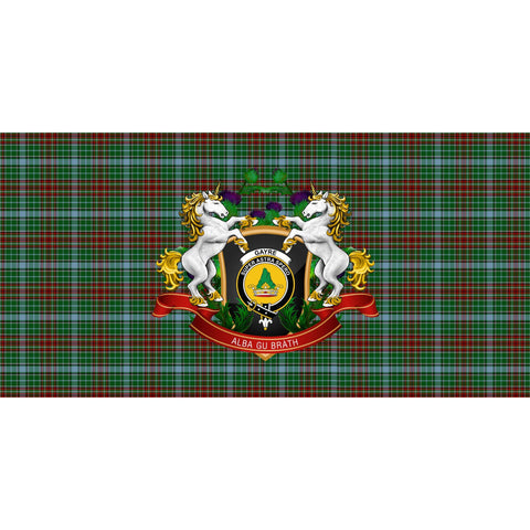 Image of Tartan Tablecloth, Gayre Unicorn Thistle Scottish Tablecloth A30