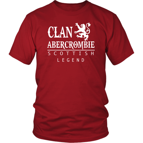 Clan Abercrombie Scottish Legend T-Shirts And Hoodies | Exclusive Over 300 Clans | Love Scotland