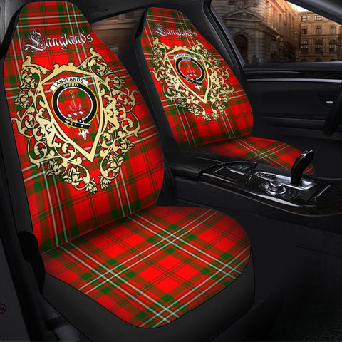 Image of Langlands Clan Car Seat Cover Royal Sheild