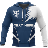 Scotland Custom Active Special Hoodie - Lion & Thistle