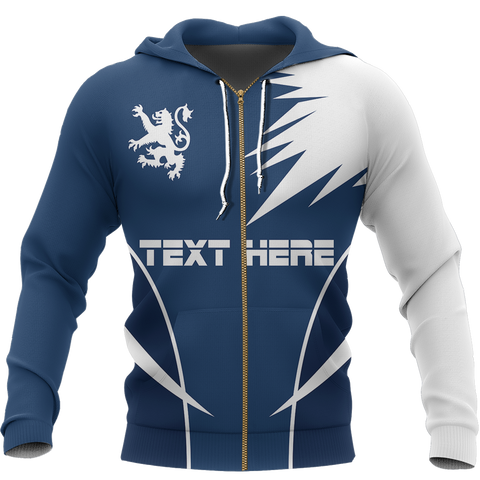 Scotland Active Special Hoodie - Custom Your Text | Women & Men