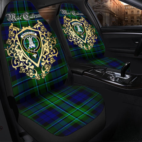 MacCallum Modern Clan Car Seat Cover Royal Sheild