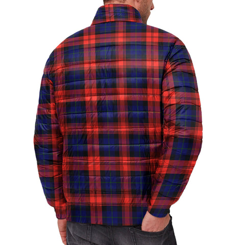 Tartan Padded Jacket -  MacLachlan Modern Scottish Stand Collar Padded Jacket A7