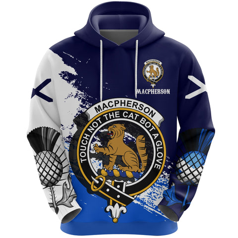 Image of MacPherson (Chief) Crest Special Hoodie (Women's/Men's) | Over 300 Clans