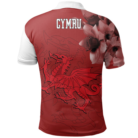 Image of Cymru Daffodil Special Polo Shirt | Women & Men | Clothing