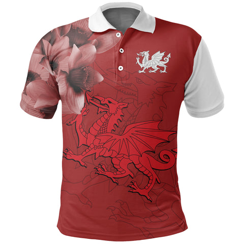 Cymru Daffodil Special Polo Shirt | Women & Men | Clothing
