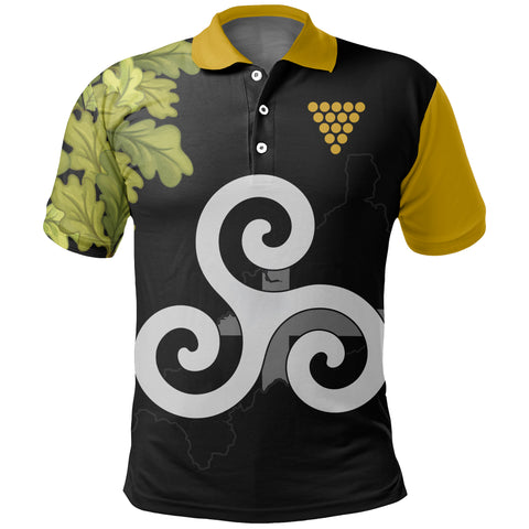 Cornish Oak Leaf Map Special Polo Shirt | Women & Men | Clothing