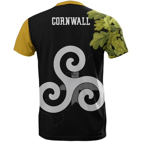 Image of Cornish Oak Leaf Map Special T-shirts | Women & Men | Clothing