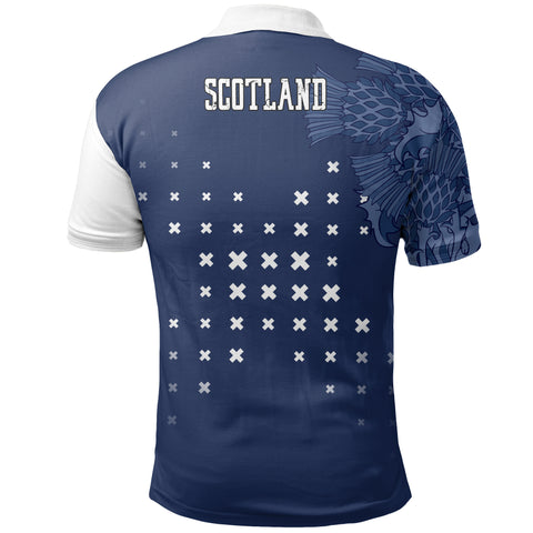 Image of Scotland Thistle Special Polo Shirts | Women & Men | Clothing