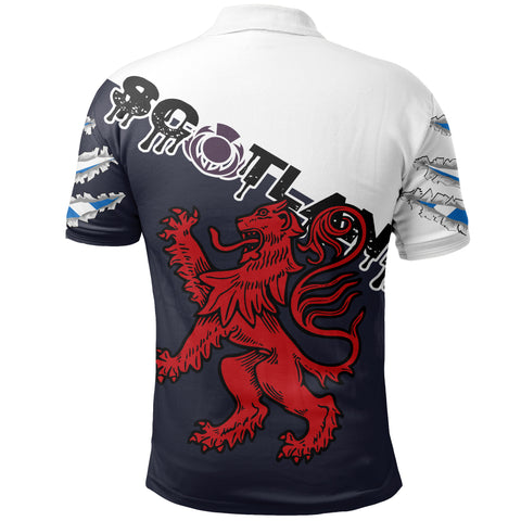 Image of Scottish Lion Polo Shirt A02