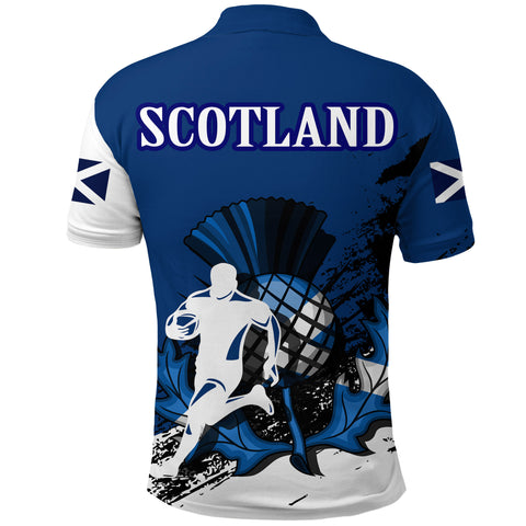 Scotland Polo Shirt Rugby - Special A7