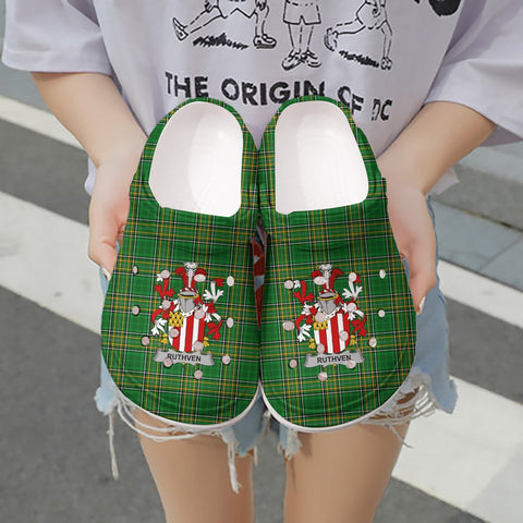 Ruthven Ireland Clogs - Irish National Tartan A31
